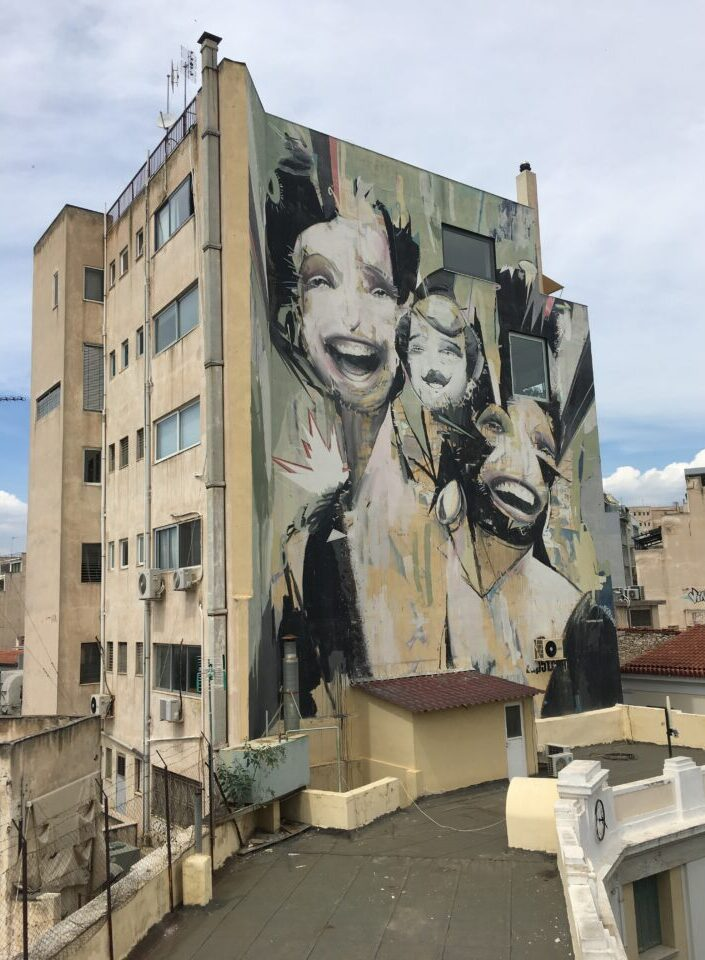 """Street art in Athens"""